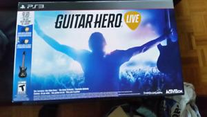 Ps3 guitar hero live box