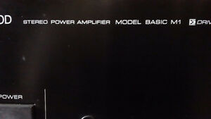 KEMWOOD BASIC M1 POWER AMP