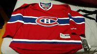 Reebok NHL Montreal Canadiens jersey/chandail adult XL Red