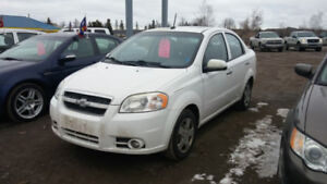 2011 CHEVEROLET AVEO LT AUTOMATIC LOADED SUNROOF