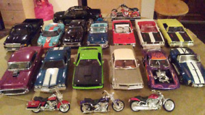 """Various 1/18's""  Cars/Trucks/Bikes and more..."
