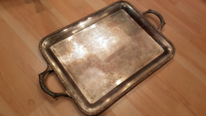 W.M. Rogers Plateau service antique Silver tray