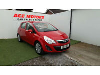 2011 VAUXHALL CORSA 1.3 CDTi 16v ecoFLEX EXCITE 5 DR,ONLY 58000 MILES WITH FSH