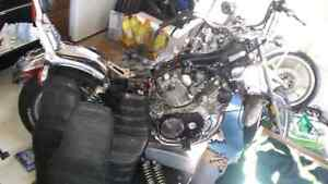 1984 yamaha virago xv 750 one complete with parts bike 1000 OBO