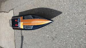 Awesome SHOCK WAVE SS gas power rc boat RTR have fun this summer