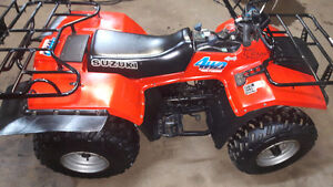 SUZUKI LTF 250 1987 TRES PROPRE SHOW ROM 2200$$NG