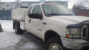 PRICE REDUCED : Ford Super Duty Dump Truck F-350 XL
