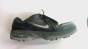 Nike golf shoes cleats size 8.5 black