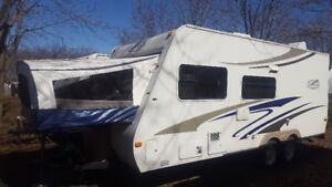 Roulotte 21 pieds Hybride Trail Cruiser 21RBH 2006