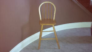 Table Height Pine Chair