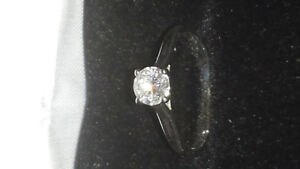 BRAND NEW 0.50 CT DIAMOND SOLITAIRE RING WITH CERTIFICATE