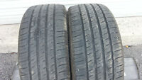 Selling 2 Michelin size 225 45 18 all season tires