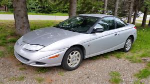 2001 Saturn 3 door Coupe