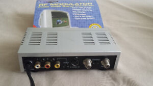 RF Modulator, Audio-video Signal Converter