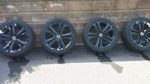 "**PRICED TO SELL **OEM Rims 18"" with 4 Winter tires as bonus"