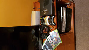 Xbox360 + jeux/games + headset/micro