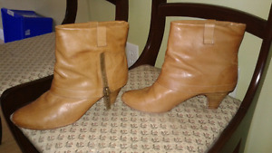 Leather booties size 7.5