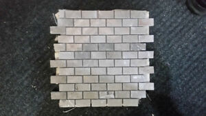 Creme Marble Mosaic  Backsplash Tile