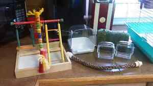 Bird cage and accessories$100 O.B.O. Peterborough Peterborough Area image 2