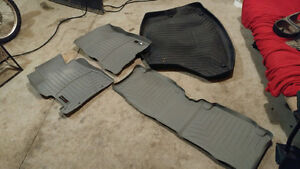 Weather Tech fitted 2005 Honda Civic Car Matts