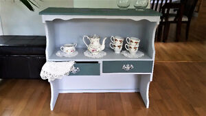 Country style side table, display table, accent table