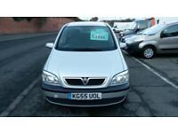 VAUXHALL ZAFIRA 2.0 DTi DIESEL 7 SEATER SILVER CLEAN AND TIDY ECONOMICAL 2005