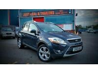 FORD KUGA 2.0TDCI 4X4 DIESEL TITANIUM FULLY SERVICED GREAT DRIVE LONG MOT