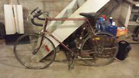 Two older racing bikes for sale