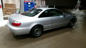 Acura CL 3.2 Type S $4000 firm. Saftied & E-Tested