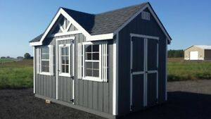 GREAT STORAGE SHED WITH LOFT