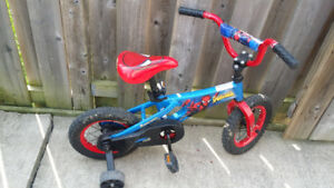 """Spiderman 12"""" bicycle"""