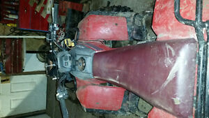 1987 honda fourtrac 2x4 no ownership