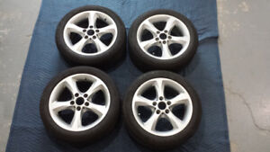 BMW Rims and Tires 205/50R17