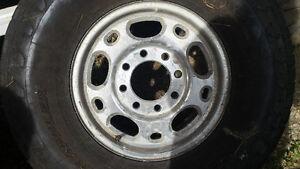 4 Wheels and Tires, 8 stud. Sz 16 Strathcona County Edmonton Area image 4