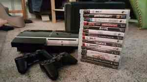 PS3 Bundle (console, 2 controllers, games)