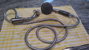 Multi-Setting Hand Shower with Hose
