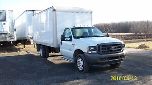 2004 Ford F-450 Fourgonnette, fourgon 16.5 PIED DIESEL