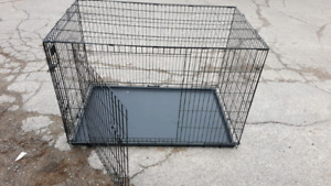 2 door dog crate . Giant size