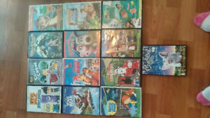 Assorted Cartoon dvds