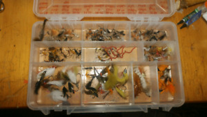 250 assorted fly fishing flies