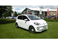 Volkswagen up! 1.0 ( 75ps ) BlueMotion Tech 2013MY High Up, Candy White,