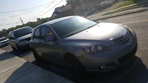 Mazda 3 2004 selling for parts