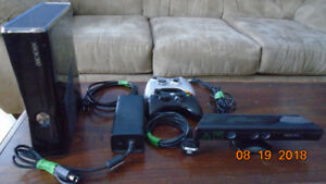 XBox 360 250 GiG with Kinect 2 Controllers Includes 39 Games
