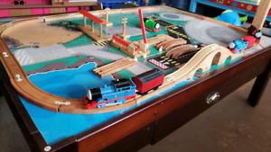 Train table sale 30% off @ clic klak used toy warehouse