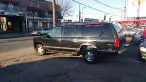 1997 CHEVROLET SUBURBAN 4X4 E-TESTED RUNS AMAZING 8 PASSENGER