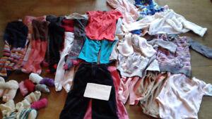 Lot vêtements fille automne-hiver 6-9 mois