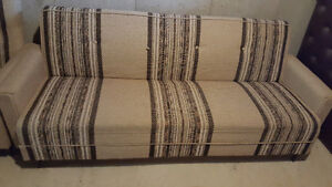 3pc - Sofa bed and 2 chairs