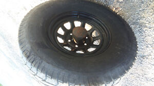 GMC sierra rims and tires