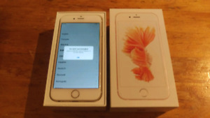 iPhone 6 Gold 32gb Bell or Virgin (can be unlocked for carrier)