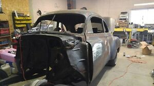 1950 chev 2dr project